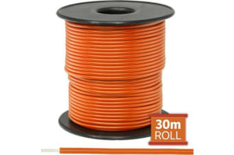 Doss 30M Orange Hookup Wire/Cable