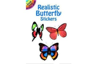 Realistic Butterfly Stickers
