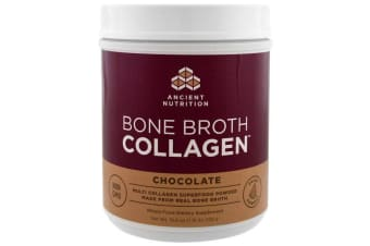 Dr. Axe / Ancient Nutrition Bone Broth Collagen - Chocolate 528g
