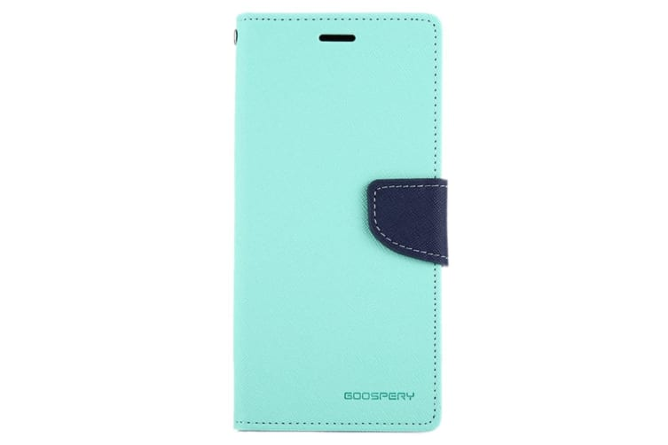 For Samsung Galaxy Note 8 Wallet Case Cross Texture Leather Cover Mint Green