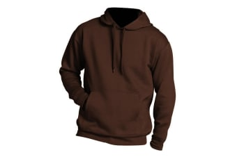 SOLS Slam Unisex Hooded Sweatshirt / Hoodie (Chocolate)