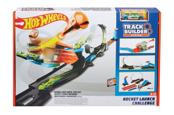 Hot Wheels Track Builder Rocket Launch Playset