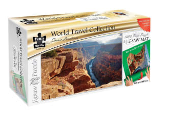 Scenic Locations - Grand Canyon 1000 Piece Puzzle with Puzzle Mat