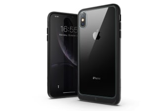 MAXSHIELD Heavy Duty ShockProof Slim Cover for iPhone X/XS-Black
