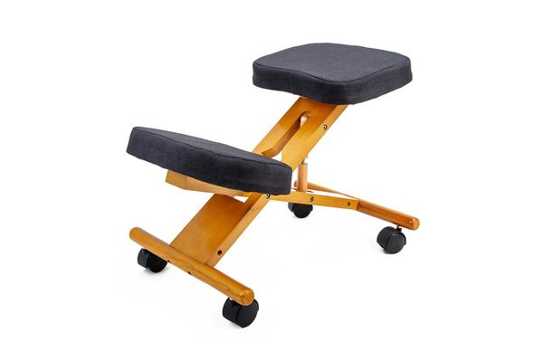 Ergonomic Kneeling Chair - BLACK