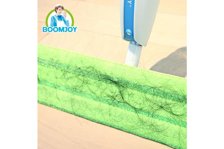 Boomjoy P9 Floor Mop Refill Replacement Reusable Microfiber Cloth Wiper