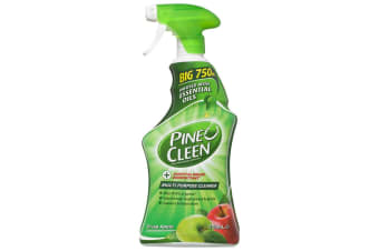 Pine O Cleen Crisp Apple 750mL/Multi Purpose House/Kitchen Cleaning Spray