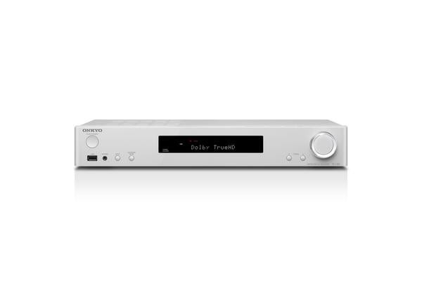 Onkyo TX-L50 5.1 Channel AV Receiver Slim HDMI 4x In 1x Out Chromecast UltraHD TV Spotify White