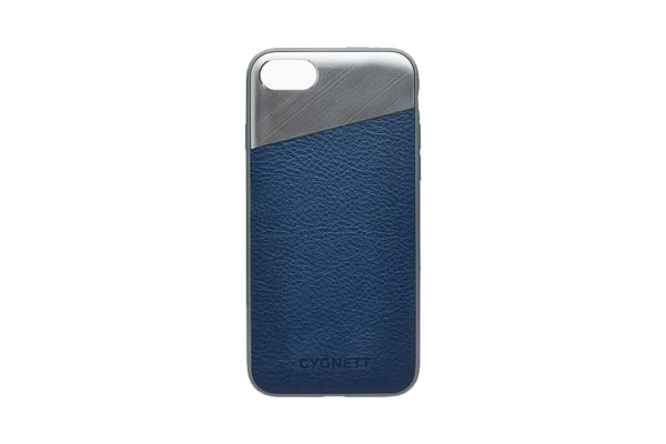 Cygnett Element Leather Case  for iPhone 8 - Navy