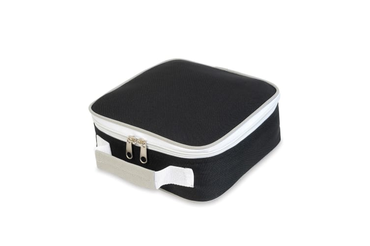 Shugon Sandwich Lunchbox (4 Litres) (Pack of 2) (Black/Light Grey) (One Size)