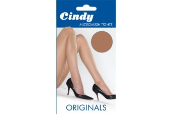 Cindy Womens/Ladies Micromesh Tights (1 Pair) (American Tan)