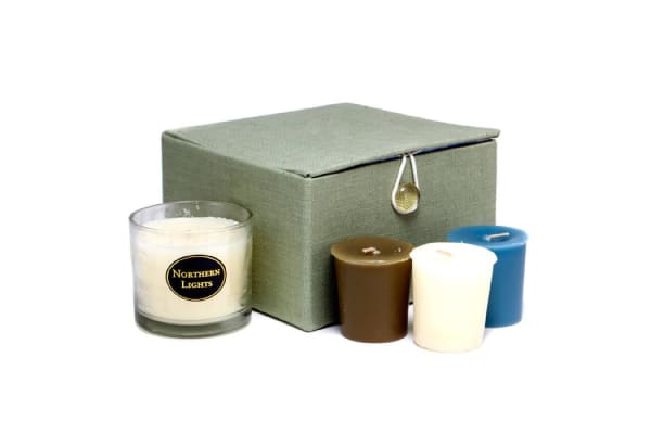 Northern Lights Candles AromaZone Candle Giftset - Small Rebecca (4pcs)