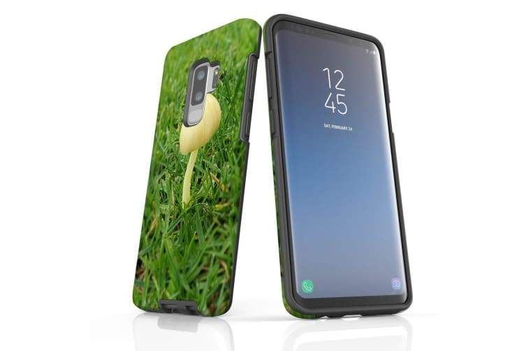 For Samsung Galaxy S9+ Plus Case Armour Cover  Lone Mushroom