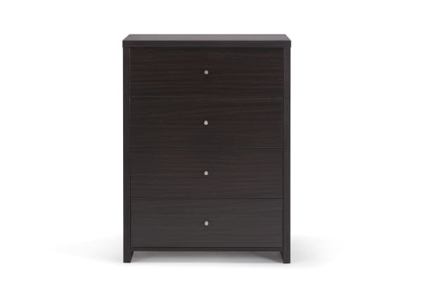 Ovela 4 Drawer Tallboy - York Collection (Brown)