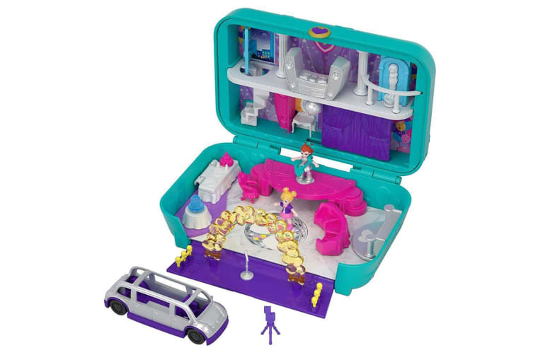 Polly Pocket Hidden in Plain Sight Dance Par-taay Case