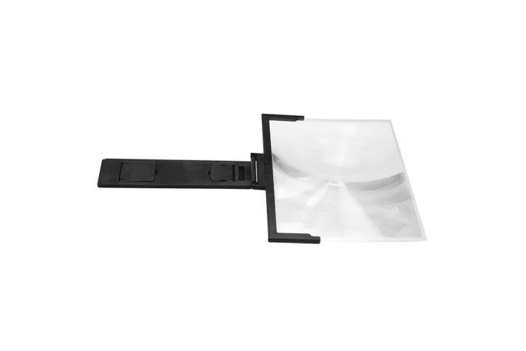 """14"""" Folding Mobile Phone Screen Magnifier white"""