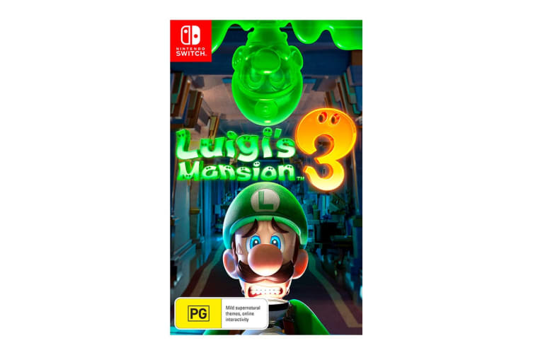 Luigi S Mansion 3 Nintendo Switch