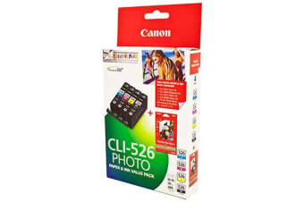 CANON CLI526 INK CARTRIDGE VALUE PACK