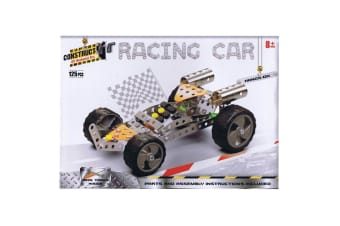 Construct It Racing Car Set with 125 Pieces