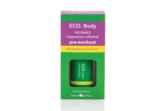 Eco Modern Essentials Body Rollerball Recovery Magnesium Pre Workout 25ml