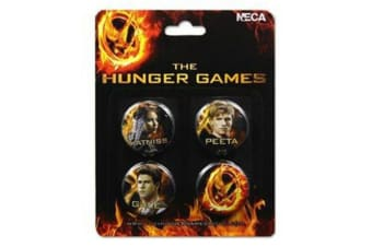 The Hunger Games Pin Set of 4 Cast