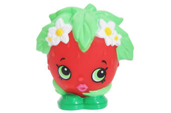 Illumi-Mates Official Shopkins Strawberry Kiss Bedside Lamp (Red/Green) (One Size)