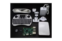 Raspberry Pi 3 Model B Official Starter White Kit ( Include Pi 3 Mainboard