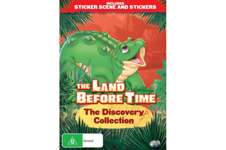 The Land Before Time The Discovery Collection DVD Region 4