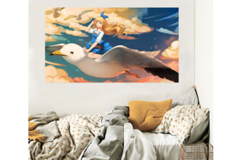 3D Sailor Moon 653 Anime Wall Stickers Self-adhesive Vinyl, 260cm x 150cm(102.3'' x 59'') (WxH)