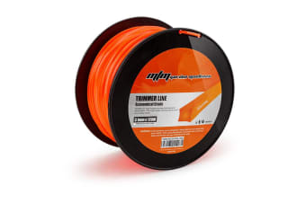 Orange 120M Square Edge Trimmer Line