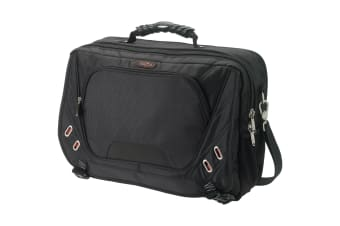 Elleven Proton Checkpoint Friendly 17in Computer Messenger Bag (Solid Black) (43.2 x 15.2 x 31.8 cm)