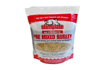 1 Kg Stimulate Ground Burley Pre Mixed with Ultrabite - Fish Attractant