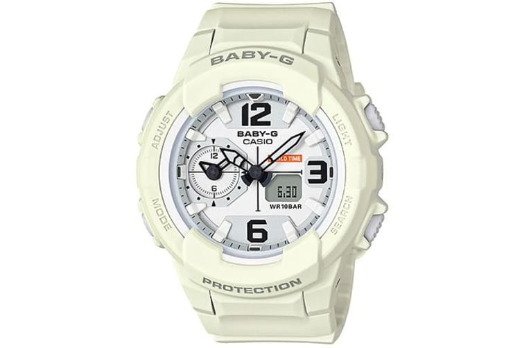 Casio Baby-G Unisex White Analogue/Digital Watch BGA-230-7B2 BGA-230-7B2DR