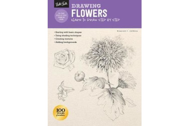 Drawing: Flowers with William F. Powell - Learn to draw step by step