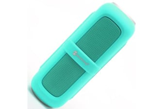 Bluetooth V2.1 Portable Stereo Speaker Water Resistant Usb Tf Fm Aqua
