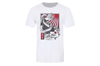 Unorthodox Collective Mens Sakana Premium T-Shirt (White)