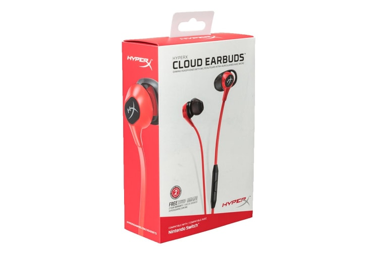 HyperX Cloud Gaming Earbuds for Nintendo Switch and Mobile Gaming