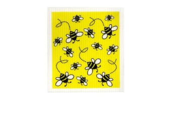 Retro Kitchen Swedish Dish Cloth Bees