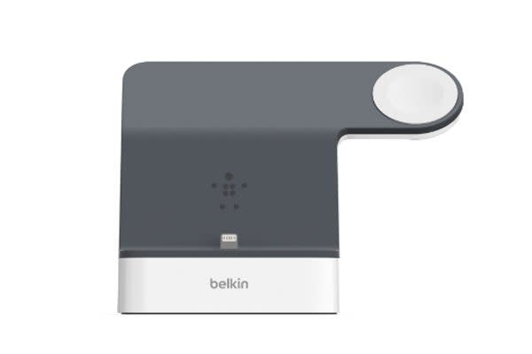 Belkin PowerHouse Charge Dock for Apple Watch & iPhone - White