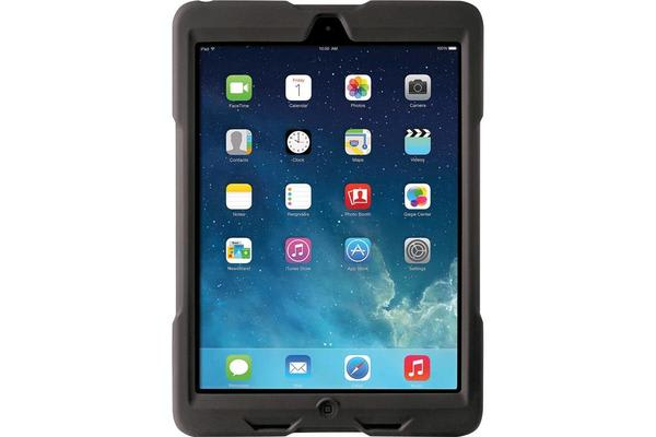 Kensington iPad Air Blackbelt 1st Degree Case - Rubberized - Black