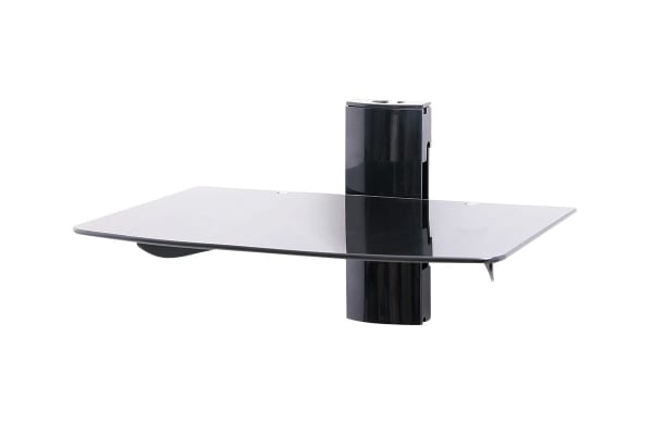 Kogan Height Adjustable Glass Shelf Wall Bracket