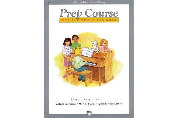 Alfred's Basic Piano Prep Course Lesson Book, Bk F - For the Young Beginner