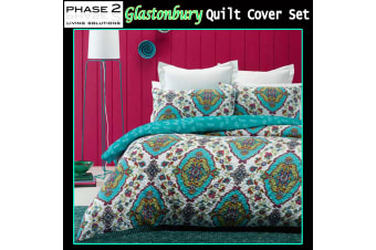 Glastonbury Quilt Cover Set by Phase 2