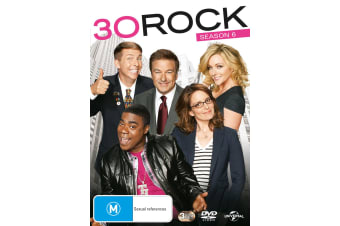 30 Rock Season 6 DVD Region 4