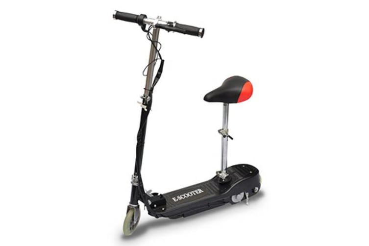vidaXL Electric Scooter with Seat 120 W Black