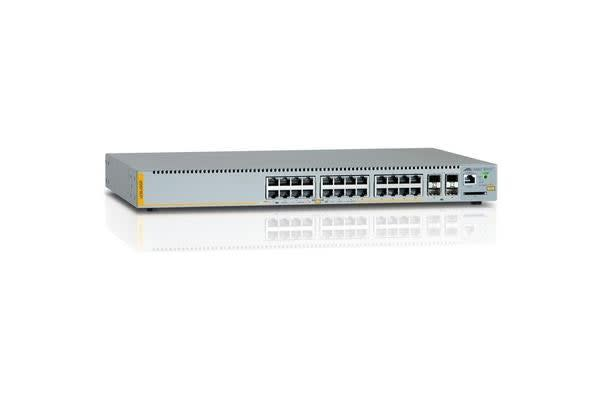 Allied Telesis AT-X230-28GP-N1 24-port 10/100/1000T stackable Swt with