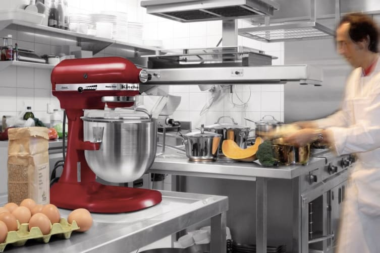 KitchenAid Bowl Lift Stand Mixer - Empire Red (KPM5)