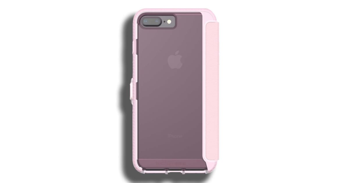 lowest price aff73 64f12 Tech21 Evo Wallet Case for Apple iPhone 7 Plus / 8 Plus - Pink   Phone  Cases