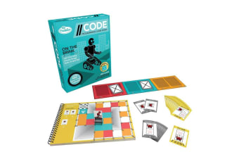 CODE On the Brink Game by ThinkFun Coding Game