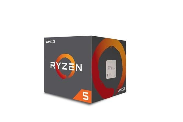AMD Ryzen 5 2400G, 4 Core AM4 CPU, 3.9GHz 6MB 65W w/Wraith Stealth Cooler Fan RX Vega Graphics Box